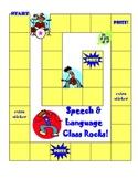 Speech and Language Sticker Chart Theme 3-Speech & Language Class Rocks!