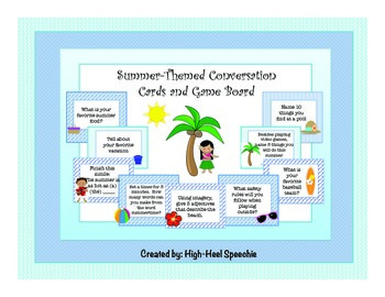 Speech and Language Summer Fun