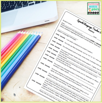Speech and Language Teacher Interview - FLUENCY {for Educational Impact}