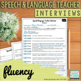 Speech and Language Teacher Interview - FLUENCY {for Educa