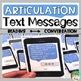 Speech and Language Text Messages Bundle