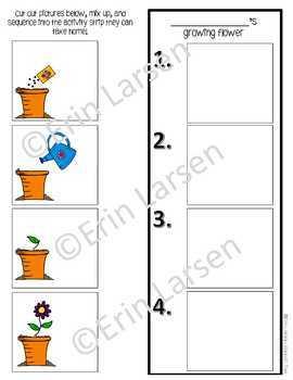 Gardening Language Activities