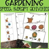 Gardening Speech Therapy Activities | Spring Speech Therapy