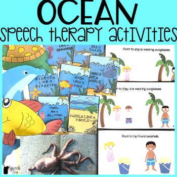 Speech and Language Thematic Preschool Unit: Ocean