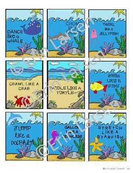Ocean Language Activities