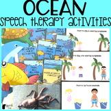 Ocean Speech Therapy Activities | Summer Speech Therapy
