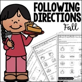 Speech and Language Therapy | Fall | Following Directions