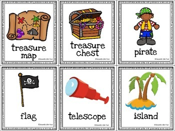 Speech and Language Therapy Pack:  Pirates