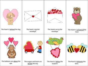 Speech and Language Therapy Pack:  Valentine's Day
