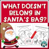 Speech and Language Therapy: What Doesn't Belong in Santa's Bag?