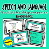 Speech and Language Toca Kitchen 2 App Companion Bundle