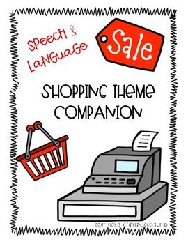 No Prep Speech and Language Shopping Play Companion