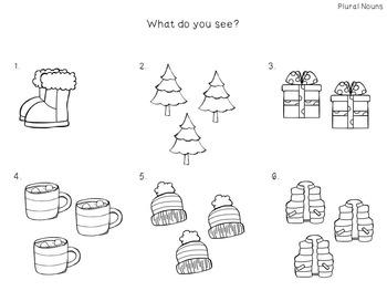 Speech and Language Wonderful Winter Bundle #1