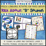 Speech and Language Picture Activities for Mixed Groups Talk About R Sounds
