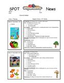 Speech and OT Sample Newsletter