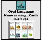 Speech and language name as many...game