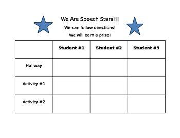 Speech behavior management