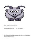 Speech homework: llama llama and the bully goat