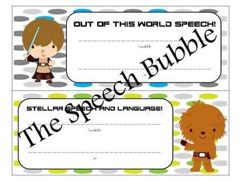 Speech in Space { Speech Room Theme Packet }