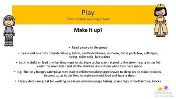 Speech & language activity ideas for EYFS
