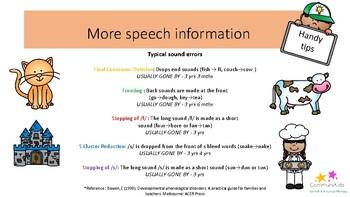 Speech & language activity ideas for EYFS pack 4