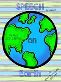 Speech on Earth