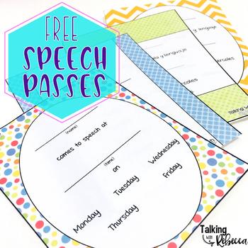Speech passes