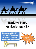 Speech therapy nativity story /s/ *Chipper Chat*