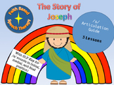 Bible Story /s/ articulation packet- Joseph Coat of Many Colors