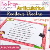 No Prep Articulation Reader's Theater Plays (School Nurse Theme)