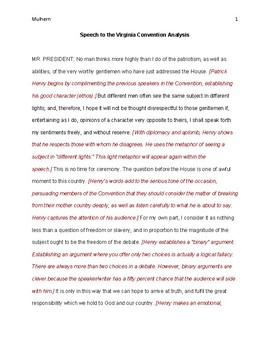English Essay Outline Format  Analysis Of Patrick Henrys Speech To The Virginia Convention Health Care Essay also Proposal Essay Topics Examples Patrick Henry Speech Teaching Resources  Teachers Pay Teachers English Essay Topics For Students
