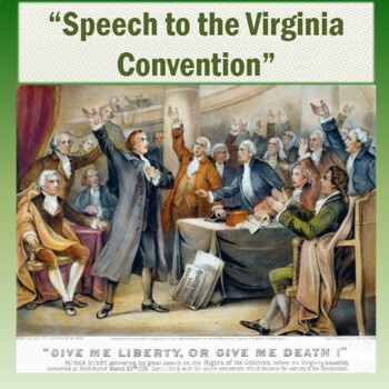 """""""Speech to the Virginia Convention"""" by Patrick Henry: Text"""