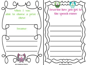 Speech was a Hoot! A collection of end of the year activities
