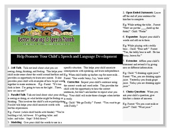 Speech/Language Brochure