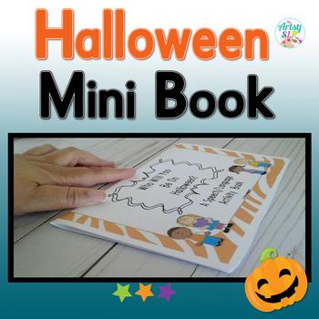 Halloween Speech Language Book {Low Prep}