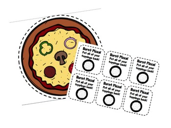 Speecha Pizza Articulation Game - K & G