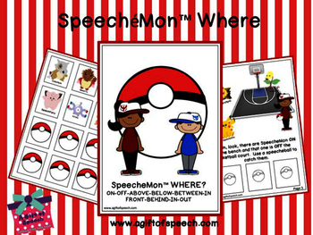 SpeecheMon Where Interactive Book