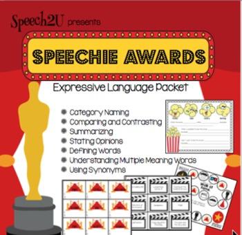 Speechie Awards: Vocabulary, Paraphrasing, Stating Opinions, Language
