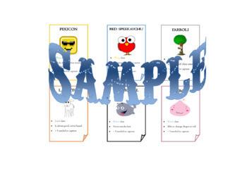 Speechimon - Speech Monsters Card Game