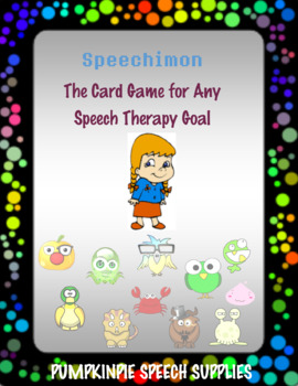 Speechimon - Speech Monsters Card Game #apr2018slpmusthave