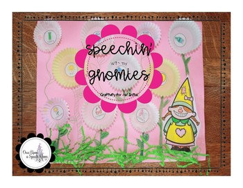 Speechin' with my Gnomies: Craftivity for /s/ Initial Freebie