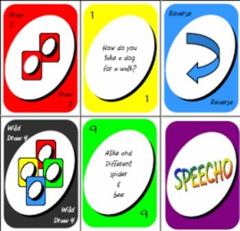 Speecho Card Games