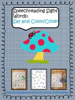 Speechreading: Sight Word Games