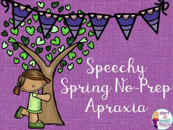 Speechy Spring No-Prep Apraxia