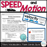Speed and Motion Task Cards for Fourth Grade