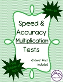 Speed & Accuracy Multiplication Tests
