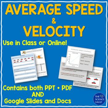 Average Speed & Velocity Notes Worksheets and Logic Puzzle ...