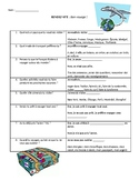 Speed-Date Questions for Travel Unit!