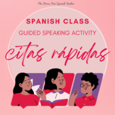 Spanish class Communicative Activity, Speed Dating / Citas