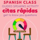 Spanish class Communicative Activity, Speed Dating / Citas Rapidas
